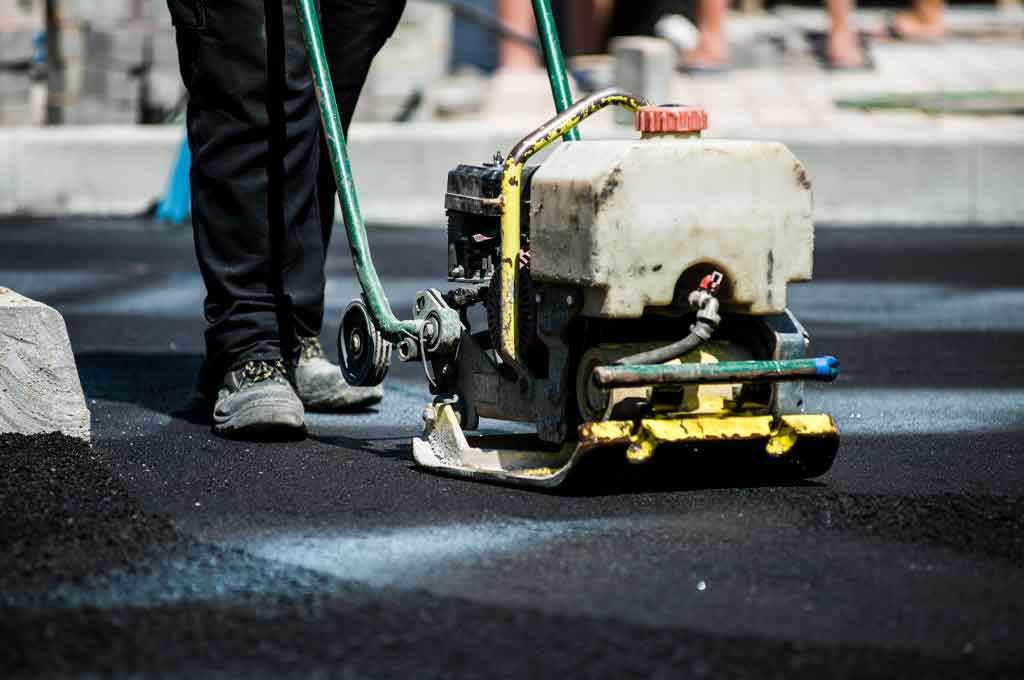 Asphalt repair - The Pavement Group