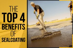The Top 4 Benefits of Sealcoating