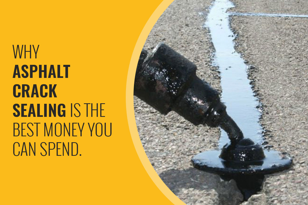 Why Asphalt Crack Sealing Is the Best Money You Can Spend