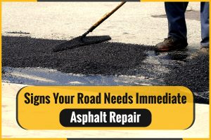 Signs Your Road Needs Immediate Asphalt Repair