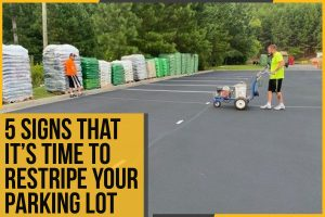 5 Signs That It's Time To Restripe Your Parking Lot - The Pavement Group