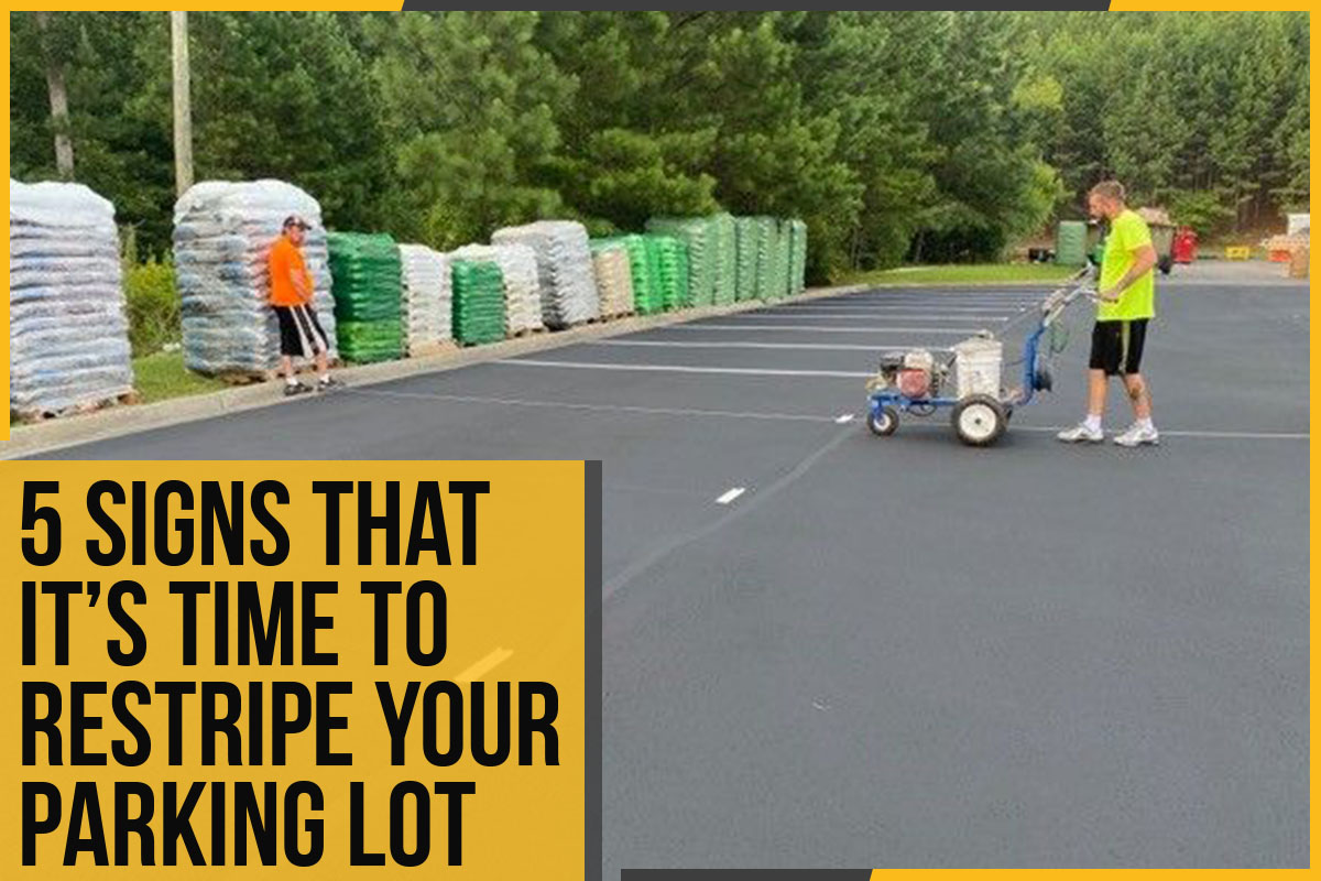 5 Signs That It's Time To Restripe Your Parking Lot